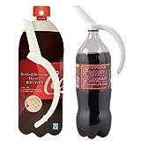 xingxing Industrial Hardware - Bottiglia di soda per acqua in plastica, con manico in bottiglia e tappo per bevande