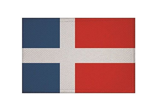 U24 Aufnäher Saarland 1957 Saargebiet Fahne Flagge Aufbügler Patch 9 x 6 cm