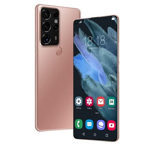 YouthRM Smartphone Sbloccato, Telefono Cellulare Sbloccato Android 10 con Dual Sim 12GB+512GB 24MP+48MP,S25Ultra 4G/5G 7.2'' HD+5800mah Face ID + Fingerprint gsm GPS,Bluetooth,WiFi