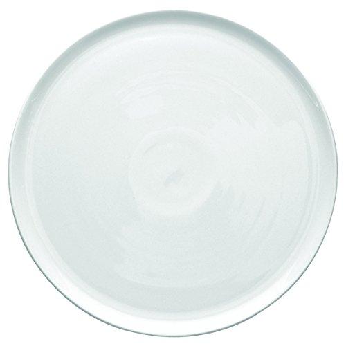 DEGRENNE Modulo Plat Fromage Porcelaine Blanc 32 cm