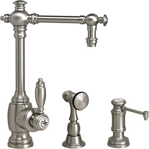 Read About Waterstone 4700-2-DAB Towson Prep Faucet 2pc. Suite Distressed Antique Brass