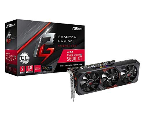 ASRock Radeon RX 5600 XT Phantom Gaming D3 6G OC 6GB GDDR6 - 3 x DisplayPort/HDMI 90-GA1VZZ-00UANF