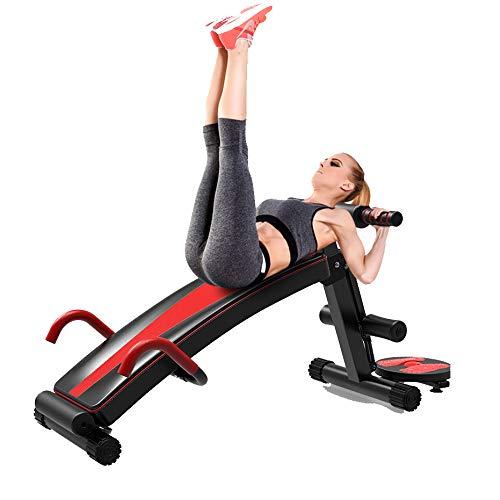 Ydshyth Verstellbare Workout Bauch Übung Multifunktionsbank Board Einstellbare Bank-Bauch-Trainingsübung Schrägbank Geeignet Für Aufrechte, Liegende Sport Fitness