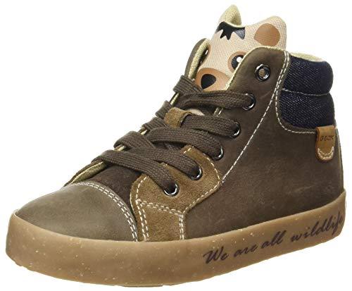 Geox Baby-Jungen B Kilwi Boy D Sneaker, (Coffee), 23 EU