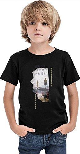 Camiseta Drop The Game Boys, Negro, 2-3 Años