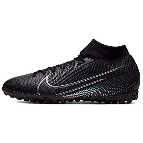 Nike Superfly 7 Academy TF, Botas de fútbol para Hombre, Negro (Black/Black 010), 47.5 EU