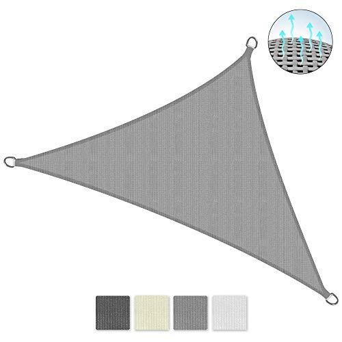 Sol Royal SolVision HS9 Vela de Sombra Toldo Parasol 600x420x420 cm HDPE Transpirable Crema protección UV