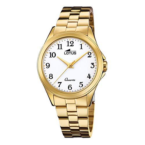 Reloj Lotus de Mujer Dorado