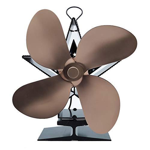 Ventilador Chimenea - Costo De Ahorro de Combustible Ventilador Ventilador Estufa de Madera/Log Burner/Chimenea,Metálico
