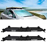 Universal Roof Rack, 2PCS Foldable Car Soft Roof Rack Luggage Carrier for Kayak