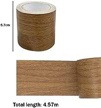 Roll Realista Woodgrain Repair Cinta Adhesiva Adhesiva 8 Colores para Muebles Muebles Cinta 8# Qiuxiaoaa 5M