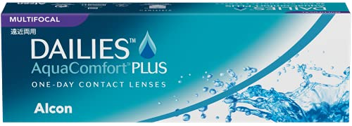 Dailies AquaComfort Plus Multifocal Lenti a Contatto Giornaliere, 30 Lenti, BC 8.7 mm, DIA 14.0 mm, Add HIGH, 3.00 Diopt
