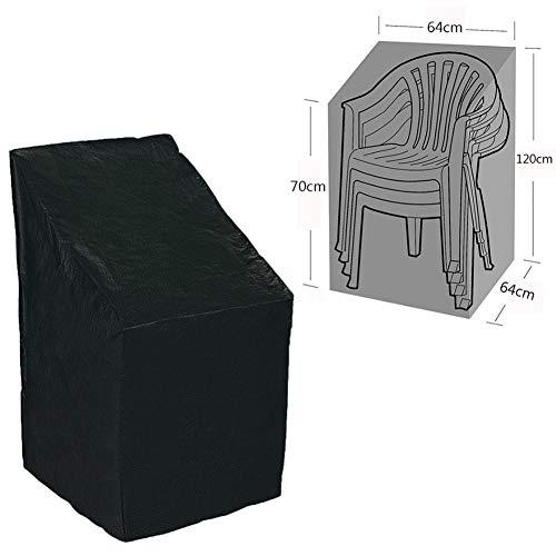 Mobilier de jardín cubre mesa conjunto de protección exterior Oxford impermeable a prueba de viento, protección contra rayos UV, interior plateado, 64 x 120 / 70 cm