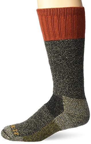Carhartt Men's Cold Weather Boot Sock, Rust, Shoe Size: 11-15