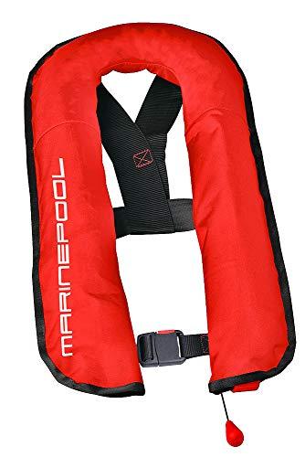 Marinepool Automatische Rettungsweste Compact II 16 L/ 150 N mit separater Schwimmblase Schwimmweste Farbe rot