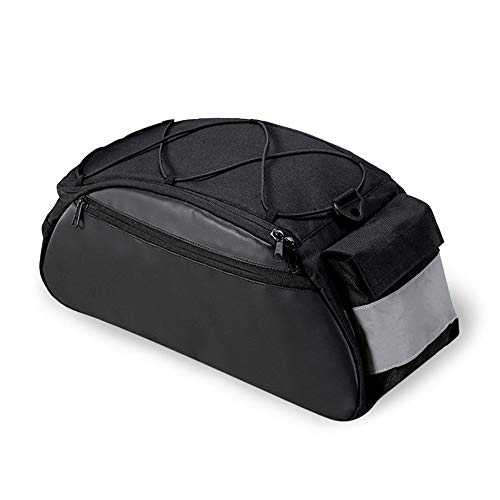 Bolsa de equipaje trasero para bicicleta 10L Parrilla de portabicicletas Funda universal...