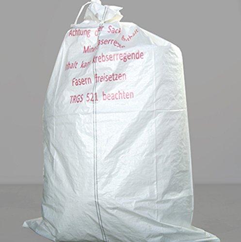Mineralwoll Säcke/KMF Bag 220 cm Entsorgungssack gemäß TRGS 521