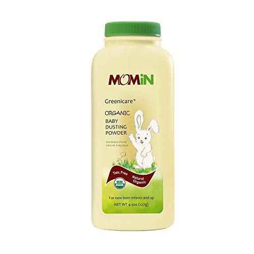 Price comparison product image MOMiN USDA Organic Baby Dusting Powder,  Talc-Free,  with Calendula Extract & Vitamin E,  4.5 Oz