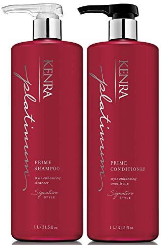 Kenra Platinum Prime Shampoo & Conditioner Large Set