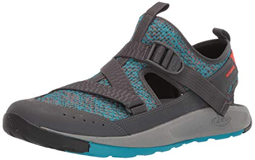 Chaco Women's Odyssey Hiking Shoe, Wax Teal, 12.0 M US