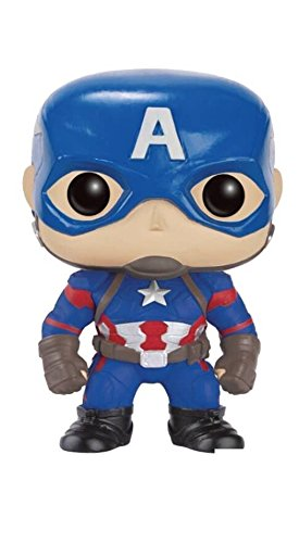 Funko - POP! Bobble Coleccion Marvel - Figura Capitan America (7223)