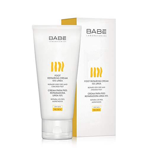Laboratorios Babé - Crema Para Pies Reparadora Urea 10% 100 ml, Reparación Intensiva, Para Pies Agrietados, Pies Cansados, Pies Diabéticos, Confort Inmediato