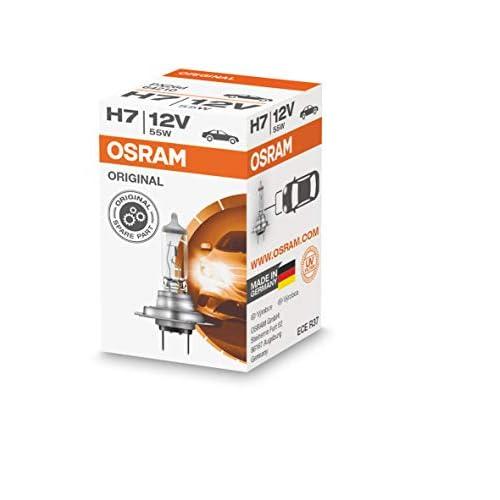OSRAM Original 12V H7 Lampada Alogena per Proiettori 64210, Confezione Singola