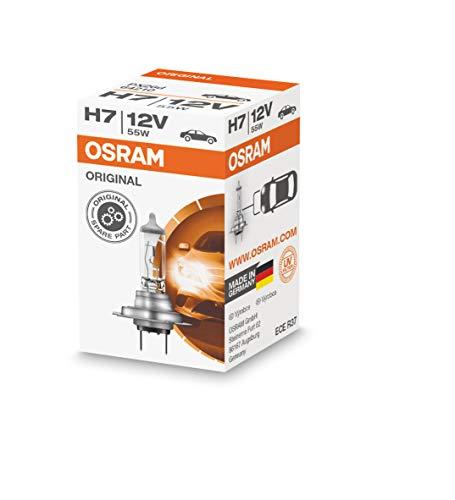 OSRAM Original 12V H7 Lampada alogena per proiettori 64210 - Confezione singola