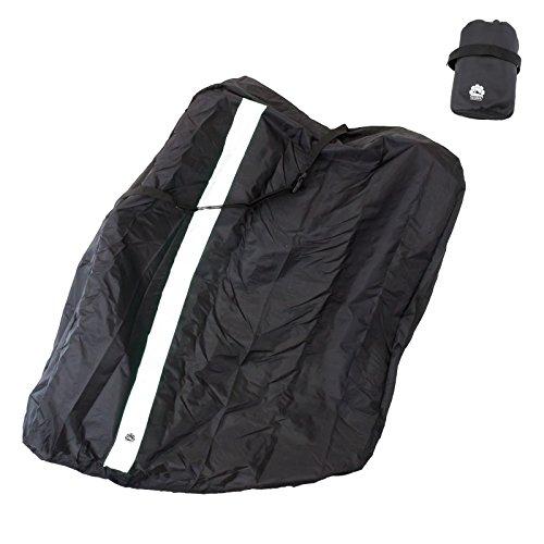 GORIX ゴリックス 輪行袋 縦タイプ 自転車 輪行バッグ (収納ポーチ付き) (Ca4)(ホワイト)