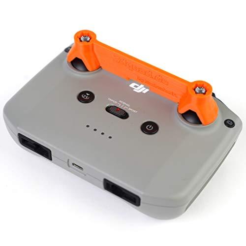3dquad Steuerknüppel Transportsicherung für DJI Mini 2 Sender, Stick Schutz, Lock (Orange)
