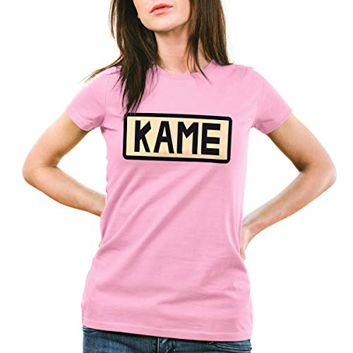 style3 Kame Goku T-Shirt Femme, Couleur:Rose, Taille:L