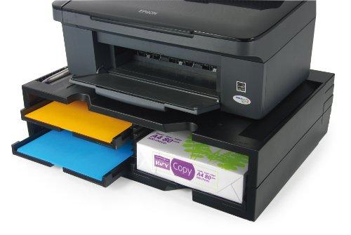 Exponent 42807 Printer Organizer Druckerstaender, schwarz
