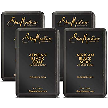 SheaMoisture African Black Soap 8 Ounces Pack of 4