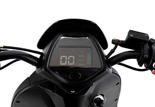 E-Mofa Elettrico Li E-Motorroller in schwarz Bild 2*
