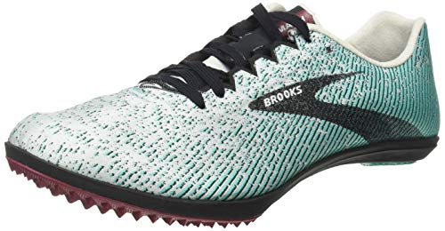 Brooks Mach 19 Spikeless, Zapatillas para Correr Mujer, Grey Black Atlantis, 36.5 EU