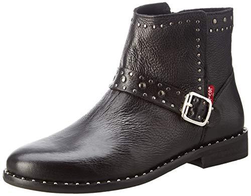 Levi's Damen Tenexy Schlupfstiefel, Schwarz (Boots 59), 39 EU