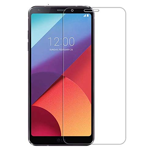 SHEEL GROW ™ Tempered Glass Screen Protector Guard (Front) with 100% Optical Resolution, Hammerproof Scratch Resistant for LG Q6 (Trink Glass) Comes with Installation kit.(Pack of 1)