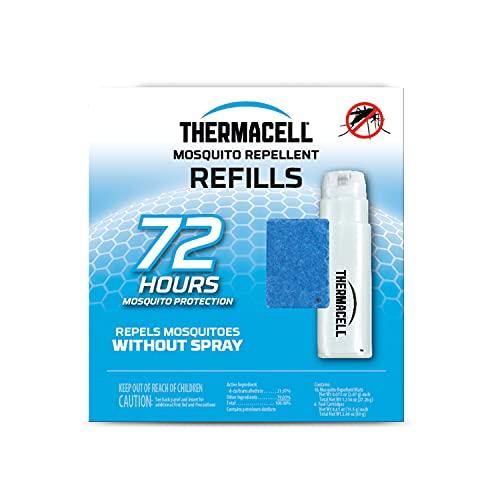 Thermacell Mückenschutz-Nachfüllpackung; kompatibel mit jedem kraftstoffbetriebenen Thermacell-Abwehr; hochwirksam, langlebig, kein Spray, kein Geruch, kein Durcheinander, 4,5 m Zone Mückenschutz