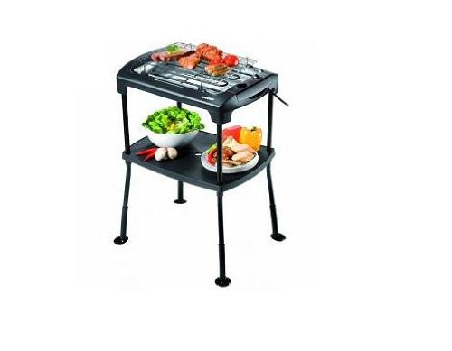 Unold-electro 58550 Barbecue-Grill Black Rack