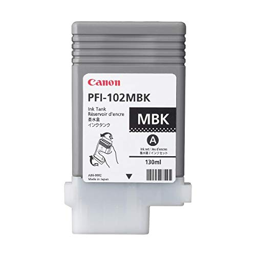 Canon PFI-102mbk Tintenpatrone mattschwarz