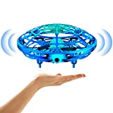 Drones for Kids,Mini Interactive Drones for Girls and Boys,Smart Kids Drone Flying Ball UFO Toys with Three Colorful Shining Lights