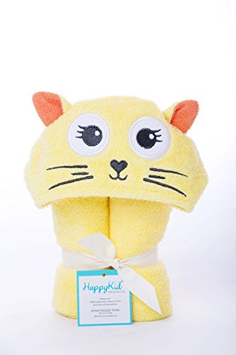 Happy Kid Organics – Serviette à capuche bébé