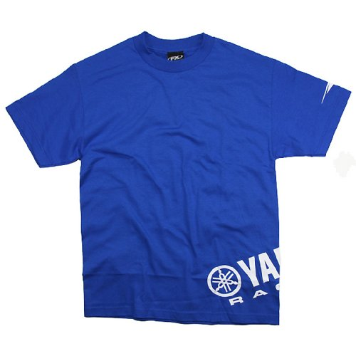 Factory Effex 'Yamaha' Wrap T-Shirt (Blue, XX-Large)