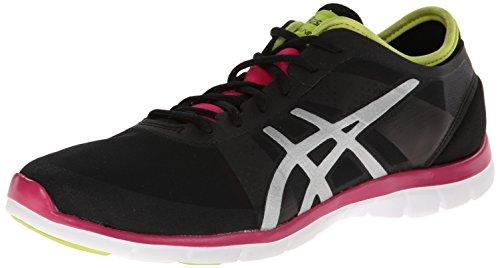 Zapato de entrenamiento cruzado Nova Fit para mujer, negro / plateado /...