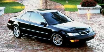 1999 Acura CL 2 Door Coupe 23L Automatic Transmission