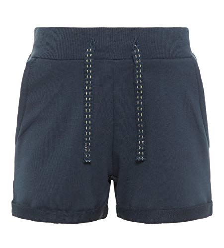 NAME IT NAME IT Mädchen Shorts NKFVOLTA SWE UNB NOOS, Blau (Dark Sapphire), (Herstellergröße: 122)