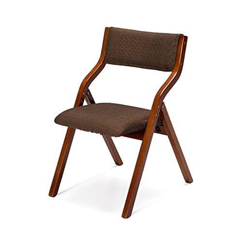 JHZY Chaises empilables Chaise Pliante à Domicile Chaises Pliantes en Bois Massif Tables et chaises pour Le ménage Chaises Pliantes Chaises Modernes Modernes Chaises Modernes Chaises empilables