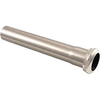 Westbrass D423-07 1-1//2 OD x 12 Slip Joint Extension Tube Satin Nickel