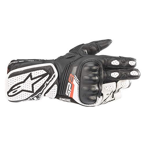 Alpinestars Stella SP-8 V3 Gloves Sporthandschuhe Motorradhandschuhe Lederhandschuhe, BLACK WHITE, M