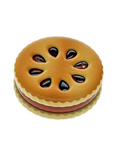 Biscuit Grinder im Keks-Design mit Alu-Mahlwerk - 2 Teile, 5,5 cm Durchmesser - Head&Nature Smoke Shop